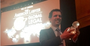 TOZZINIFREIRE RECEIVED THE AMERICAN LAWYER GLOBAL LEGAL AWARDS 2016 IN NEW YORK