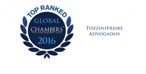 TozziniFreire is a Top Ranked firm in Chambers Global 2016