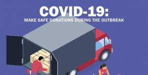 COVID-19: Make safe donations during the outbreak