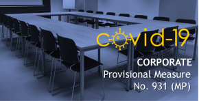 COVID-19 | Corporate - Provisional Measure No. 931 (MP)